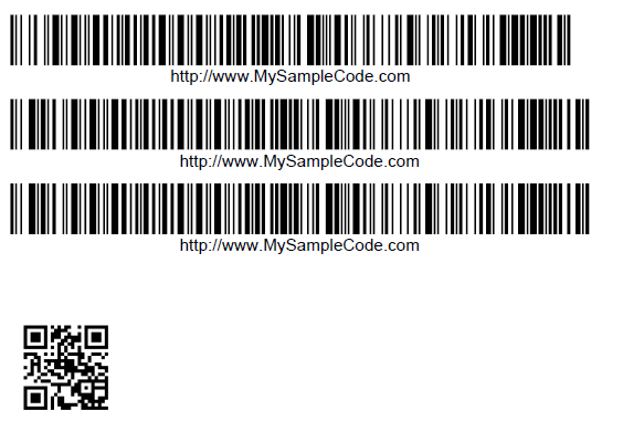 How to Generate Barcodes Using Java, Barcodes Example
